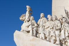 Памятник открытий, Лиссабон, Португалия - 3-ье марта 2016: Стоковые Фото
