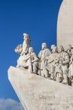 Памятник открытий, Лиссабон, Португалия Стоковое Изображение