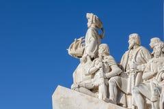 Памятник открытий, Лиссабон, Португалия Стоковые Фото