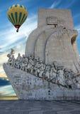 Памятник открытий, Лиссабон, Португалия Стоковые Изображения