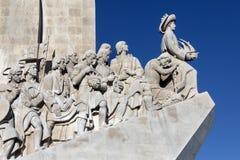 Памятник открытий - Лиссабон - Португалия Стоковая Фотография RF