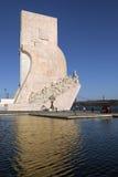 Памятник открытий - Лиссабон - Португалия Стоковое фото RF