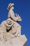 Памятник открытий - Лиссабон - Португалия Стоковые Фото