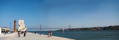 Памятник открытий моря Стоковое Изображение RF