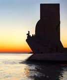 Памятник открытий, Португалия Стоковое Изображение RF