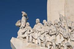 памятник открытий Стоковая Фотография