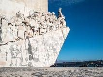 Памятник открытий Стоковое Изображение RF