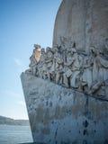 Памятник открытий Стоковое Фото