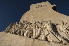 Памятник открытий Стоковые Изображения RF