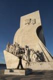 Памятник открытий Стоковые Изображения