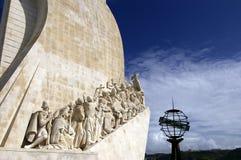 Памятник открытий Стоковые Фото