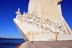 Памятник открытий Стоковая Фотография RF