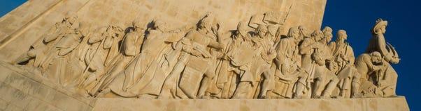 Памятник открытия на Belem, Лиссабоне, Португалии Стоковая Фотография