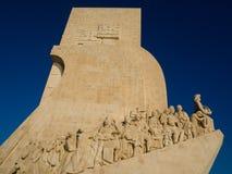 Памятник открытия на Belem, Лиссабоне, Португалии Стоковое Изображение RF