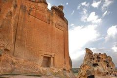 Памятник долины Phrygian Стоковое Изображение RF