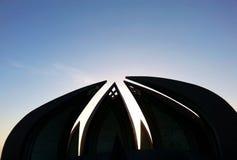 Памятник Пакистан Стоковая Фотография RF