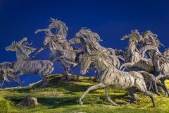 Памятник панического бегства в Гвадалахаре Стоковая Фотография RF