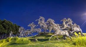 Памятник панического бегства Стоковые Фото