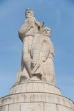 Памятник пантеона в саде моря Варны, Болгарии Стоковые Фотографии RF