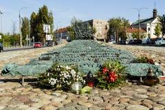 Памятник падать и убитый в востоке стоковое изображение rf