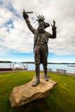 Памятник пирата стоковое изображение