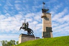 Памятник победы в Новгороде большой, Россия Стоковое фото RF