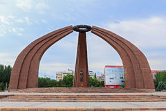 Памятник победы Стоковые Фотографии RF
