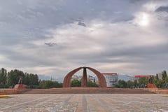 Памятник победы Стоковая Фотография