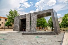 Памятник победы Knin Стоковая Фотография