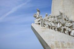 памятник Португалия открытий к Стоковые Изображения