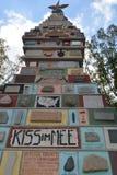 Памятник положений Стоковое Изображение