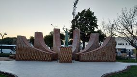 Памятник правосудия стоковые фото