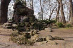 Памятник Прага Юлия Zeyer Стоковое Изображение