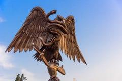 Памятник преданности Лос Pinos стоковое фото