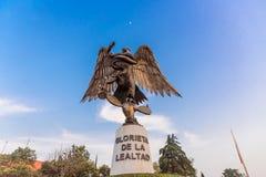 Памятник преданности Лос Pinos стоковая фотография rf
