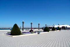 Памятник природы улиц города архитектуры Стоковые Изображения RF