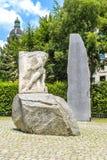 Памятник против войны и фашизма, вены, Австрии стоковые фотографии rf