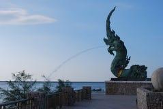 Памятник дракона Стоковая Фотография RF