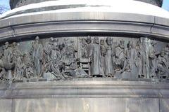 памятник Россия тысячелетия части к Стоковые Изображения RF