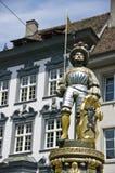 памятник рыцаря Стоковое Изображение