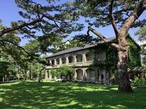 Памятник сада сосны исторический стоковые фотографии rf