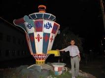 Памятник самовара Тулы Стоковое фото RF