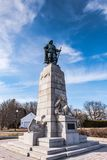 Памятник Самюэля Champlain Стоковые Фото
