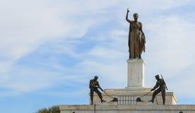 Памятник свободы в городе Никосии, Кипра крупного плана eyedroppers высокий разрешения взгляд очень Стоковое Фото