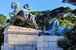 Памятник Сесиля Родоса - Кейптаун, Южная Африка Стоковая Фотография RF