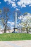 Памятник соединения Люблина на Lithia квадрате в Люблине стоковое изображение rf