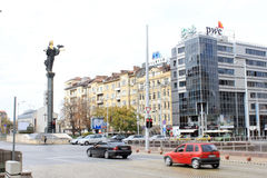 Памятник Софии Святого Стоковое Фото