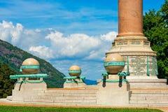 Памятник сражения гражданской войны западного пункта стоковое изображение rf