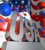 памятник США Стоковые Изображения