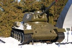 Памятник танка WWII Стоковая Фотография RF